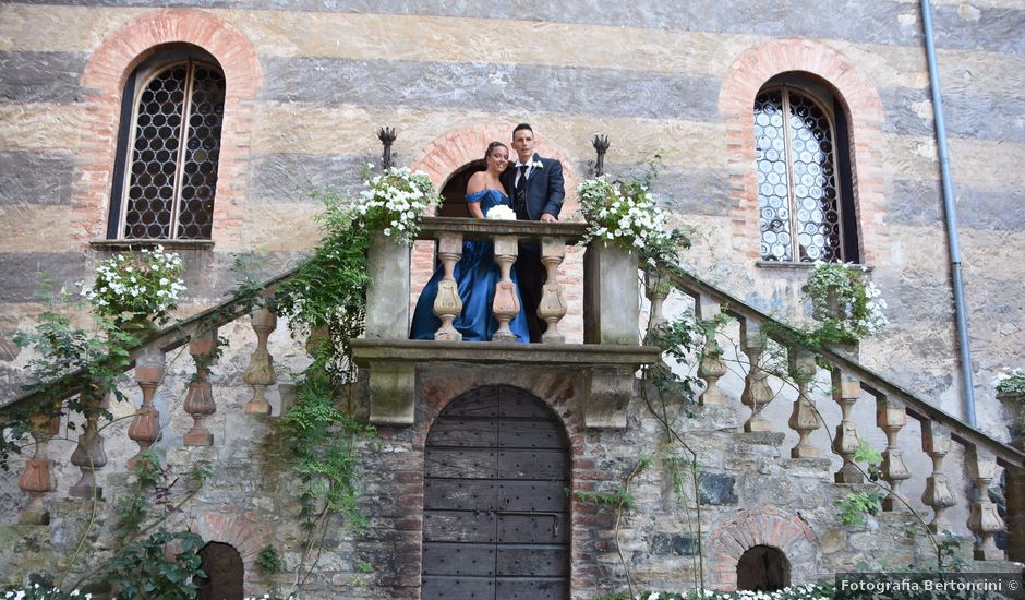 Il matrimonio di Stefano e Sara a Gropparello, Piacenza