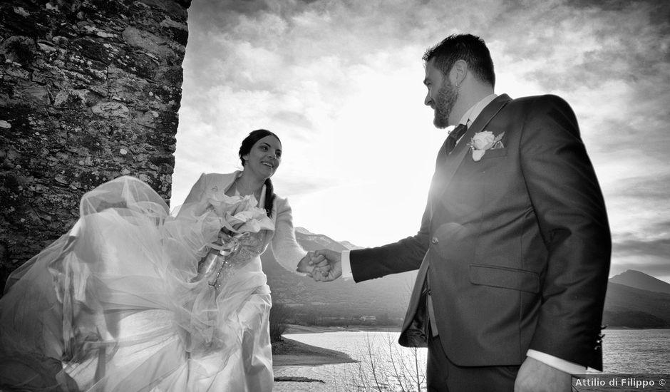 Il matrimonio di Domenico e Teresa a Villetta Barrea, L'Aquila
