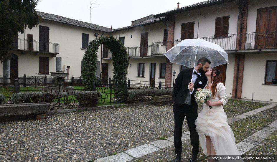 Il matrimonio di Andrea e Elisa a Mortara, Pavia