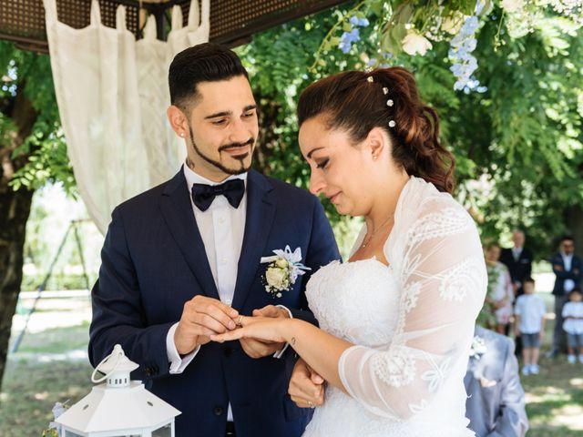 Il matrimonio di Daniel e Sara a Scaldasole, Pavia 20