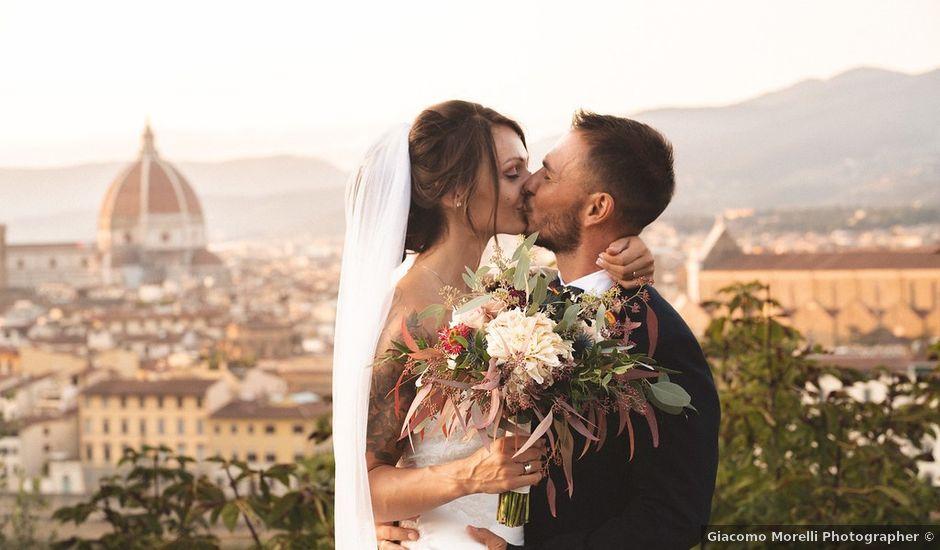 Il matrimonio di Enrico e Jenny a Firenze, Firenze
