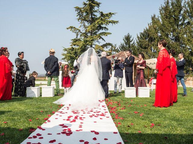 Il matrimonio di Matteo e Marica a Cocconato, Asti 27