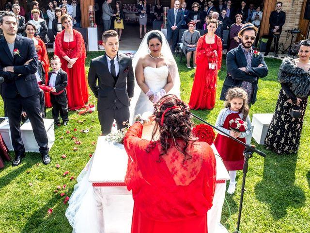 Il matrimonio di Matteo e Marica a Cocconato, Asti 28