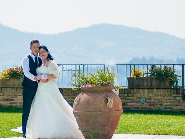 Il matrimonio di Matteo e Marica a Cocconato, Asti 51