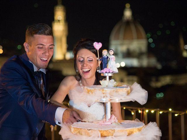 Il matrimonio di Alessio matarazzo e Lisa zaramella  a Firenze, Firenze 2