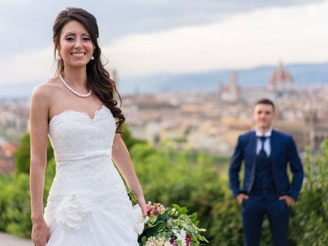 Il matrimonio di Alessio matarazzo e Lisa zaramella  a Firenze, Firenze 6
