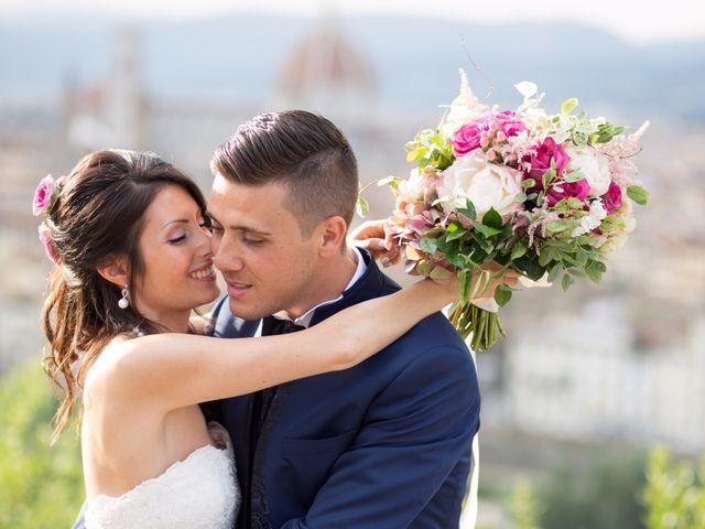 Il matrimonio di Alessio matarazzo e Lisa zaramella  a Firenze, Firenze 1