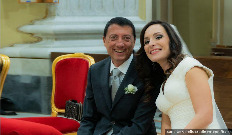 Il matrimonio di Fabrizio e Alessandra a Napoli, Napoli