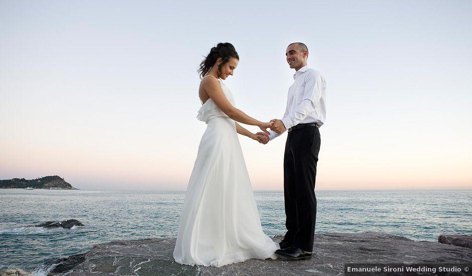 Il matrimonio di Piero e Sara a Chiavari, Genova