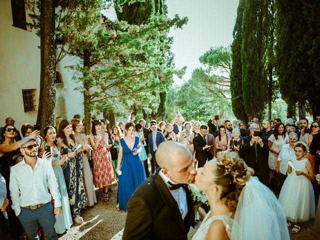 Il matrimonio di Enrico e Valentina a Montespertoli, Firenze 18