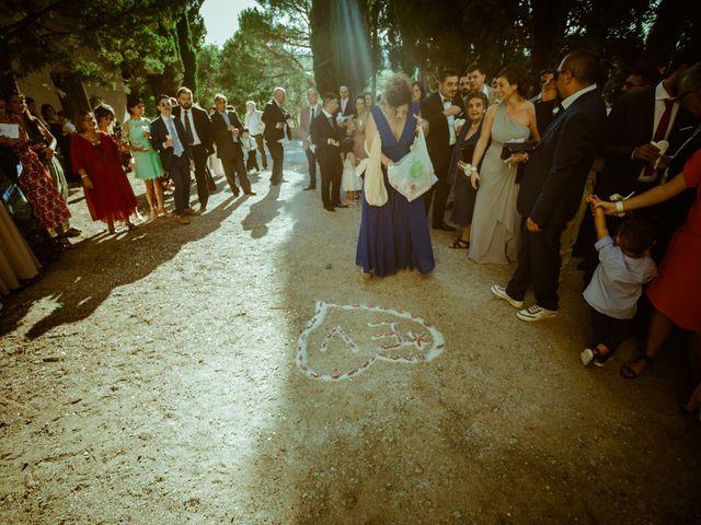 Il matrimonio di Enrico e Valentina a Montespertoli, Firenze 40