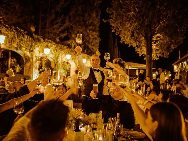 Il matrimonio di Enrico e Valentina a Montespertoli, Firenze 53