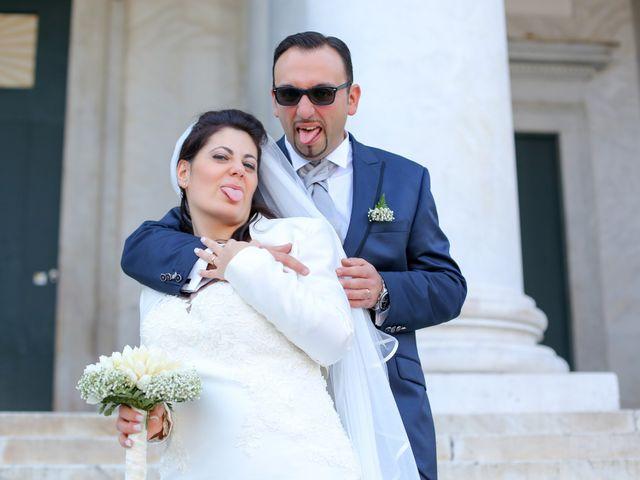 Le nozze di Alessandra e Carmelo