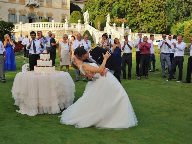 Il matrimonio di Alex e Lucia a Malgrate, Lecco 40