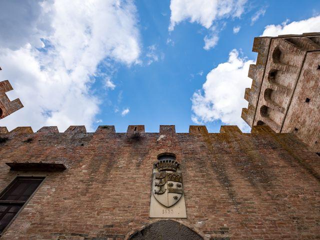 Il matrimonio di Todd e Nicole a Castelfiorentino, Firenze 34