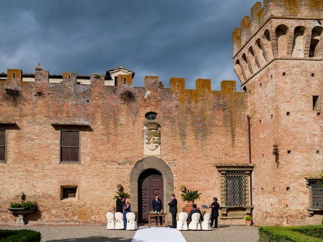 Il matrimonio di Todd e Nicole a Castelfiorentino, Firenze 42