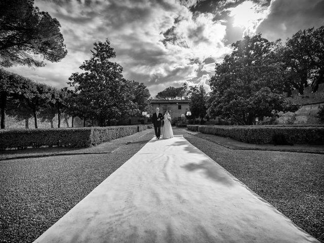 Il matrimonio di Todd e Nicole a Castelfiorentino, Firenze 43