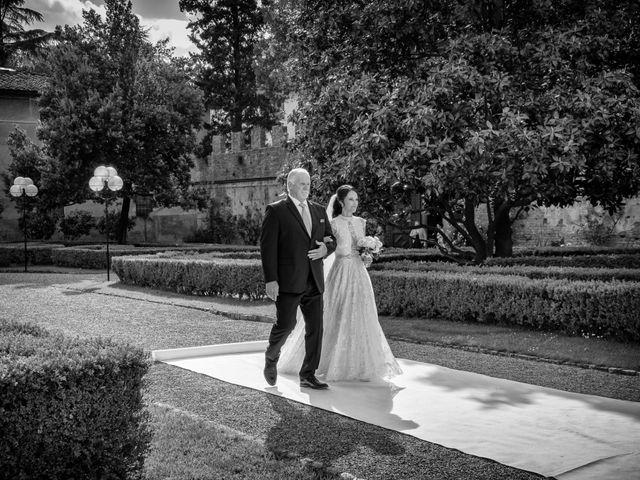 Il matrimonio di Todd e Nicole a Castelfiorentino, Firenze 44