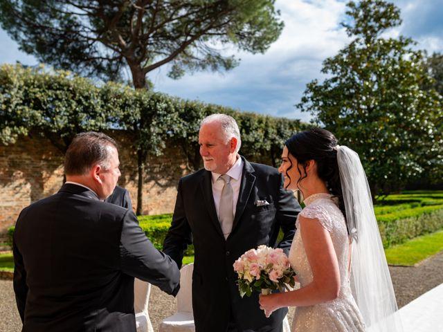 Il matrimonio di Todd e Nicole a Castelfiorentino, Firenze 45