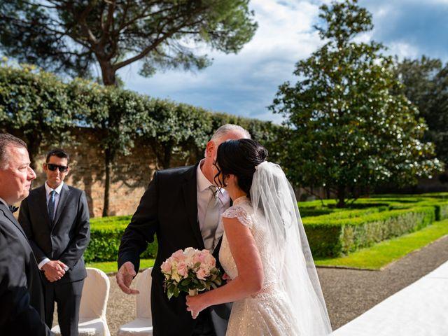 Il matrimonio di Todd e Nicole a Castelfiorentino, Firenze 46