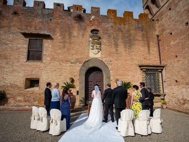 Il matrimonio di Todd e Nicole a Castelfiorentino, Firenze 47