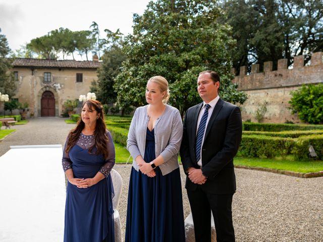Il matrimonio di Todd e Nicole a Castelfiorentino, Firenze 50