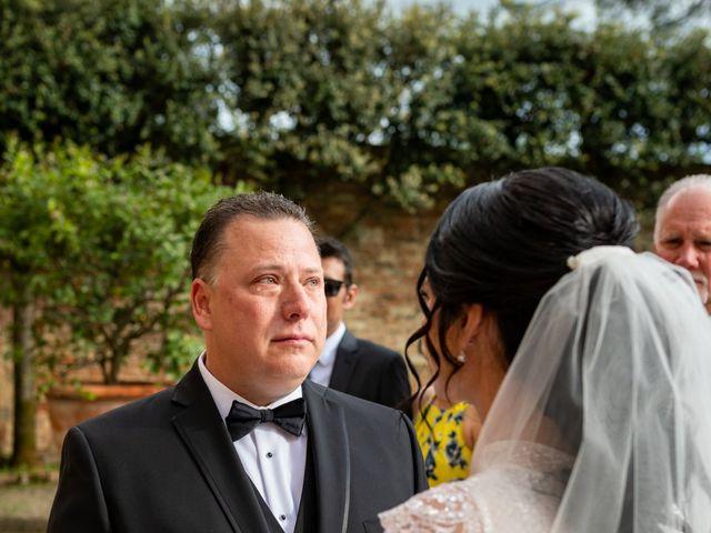 Il matrimonio di Todd e Nicole a Castelfiorentino, Firenze 52