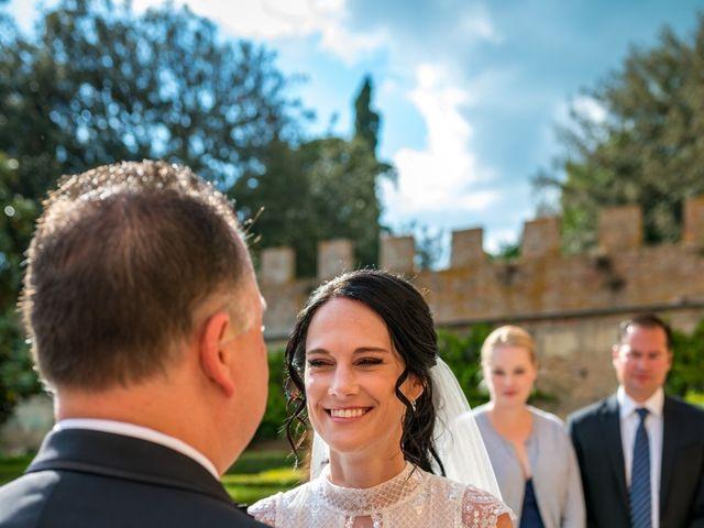 Il matrimonio di Todd e Nicole a Castelfiorentino, Firenze 55