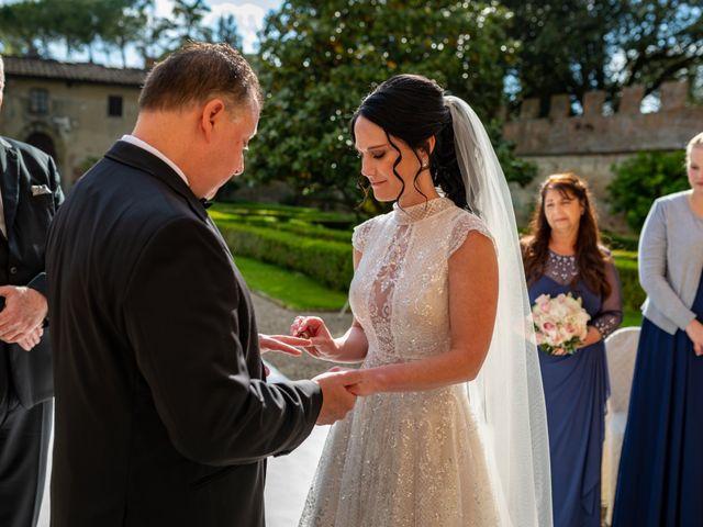 Il matrimonio di Todd e Nicole a Castelfiorentino, Firenze 57