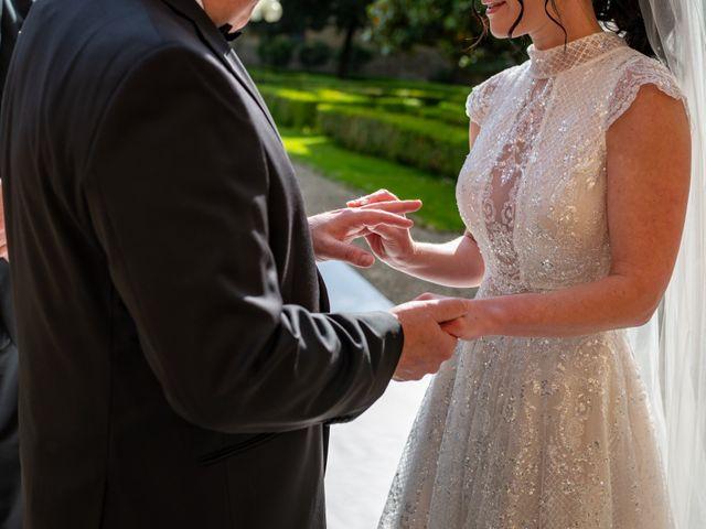 Il matrimonio di Todd e Nicole a Castelfiorentino, Firenze 58