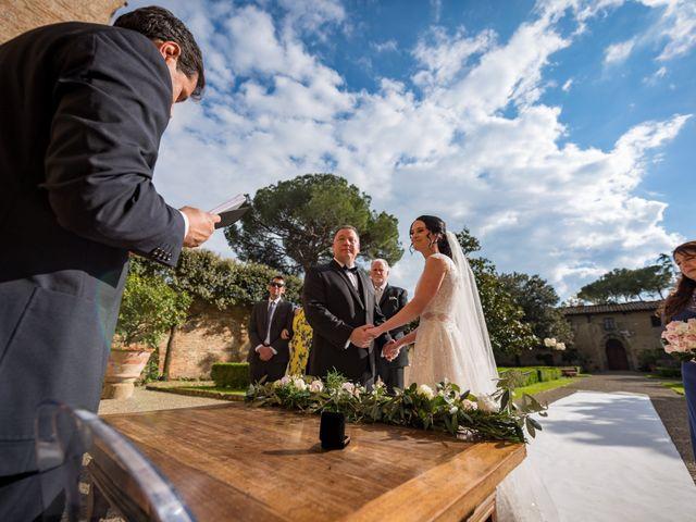 Il matrimonio di Todd e Nicole a Castelfiorentino, Firenze 60