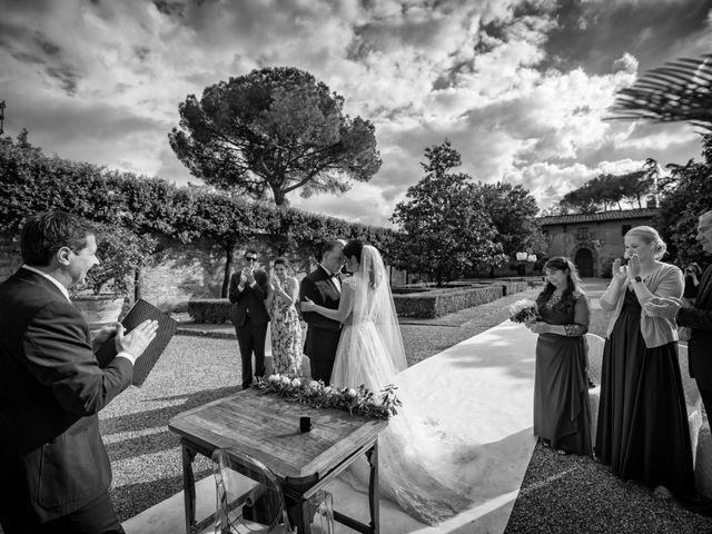 Il matrimonio di Todd e Nicole a Castelfiorentino, Firenze 61