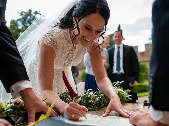 Il matrimonio di Todd e Nicole a Castelfiorentino, Firenze 62