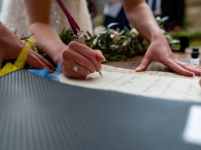 Il matrimonio di Todd e Nicole a Castelfiorentino, Firenze 63