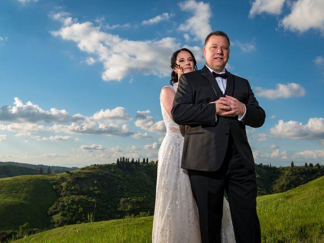 Il matrimonio di Todd e Nicole a Castelfiorentino, Firenze 75