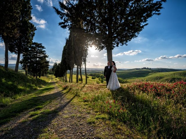 Il matrimonio di Todd e Nicole a Castelfiorentino, Firenze 79