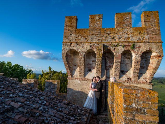 Il matrimonio di Todd e Nicole a Castelfiorentino, Firenze 80