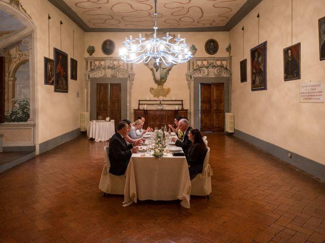 Il matrimonio di Todd e Nicole a Castelfiorentino, Firenze 90