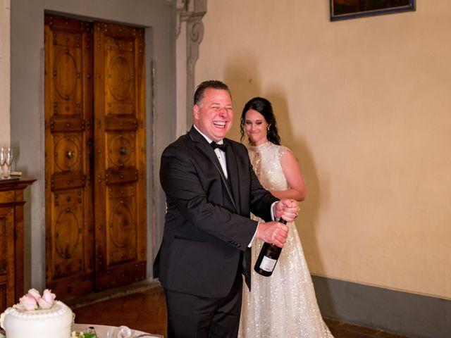 Il matrimonio di Todd e Nicole a Castelfiorentino, Firenze 96