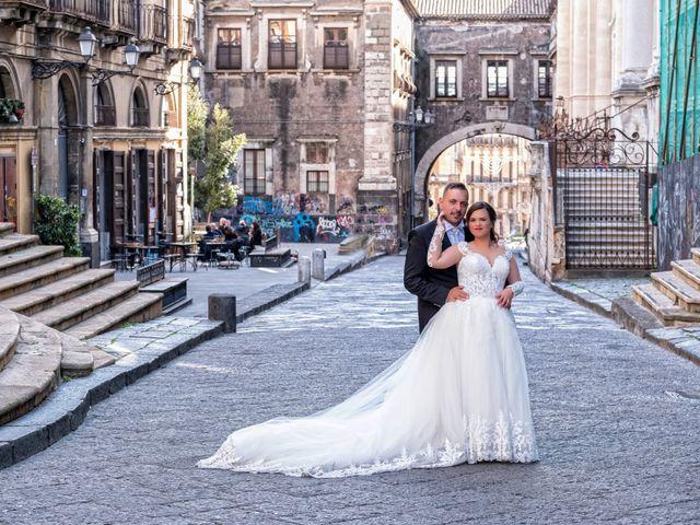 Il matrimonio di Rosario e Laura a Catania, Catania 33