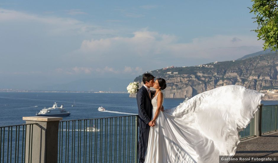 Il matrimonio di Emanuel e Flavia a Sorrento, Napoli