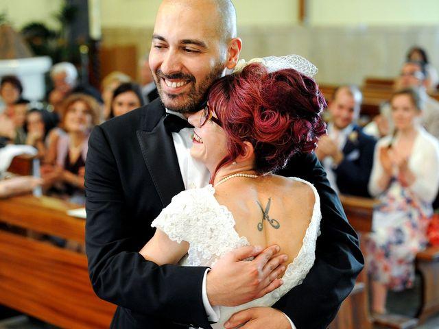 Il matrimonio di Vincenzo e Raffaella a Battipaglia, Salerno 28