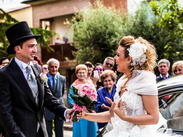 Il matrimonio di Elena e Cristian a Foiano della Chiana, Arezzo 53