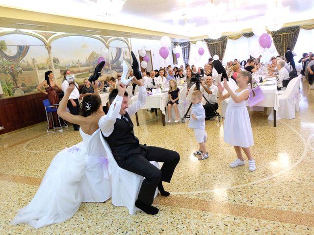 Il matrimonio di Michael e Valentina a Arre, Padova 35