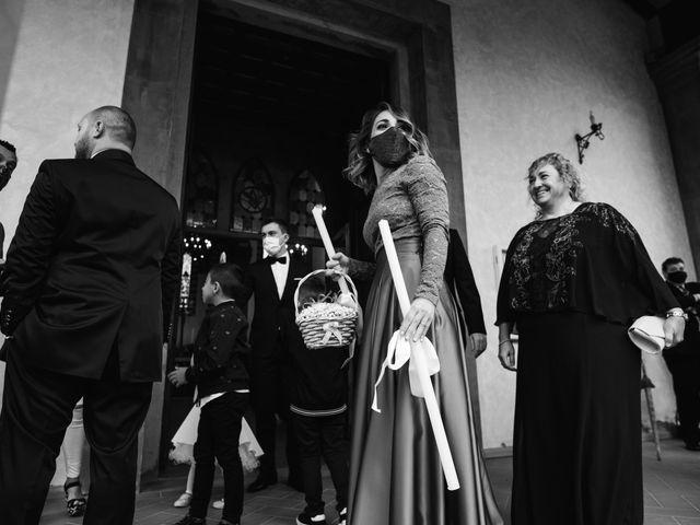 Il matrimonio di Lorenzo e Anna a Castelfiorentino, Firenze 16