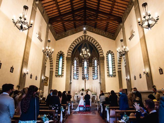 Il matrimonio di Lorenzo e Anna a Castelfiorentino, Firenze 22