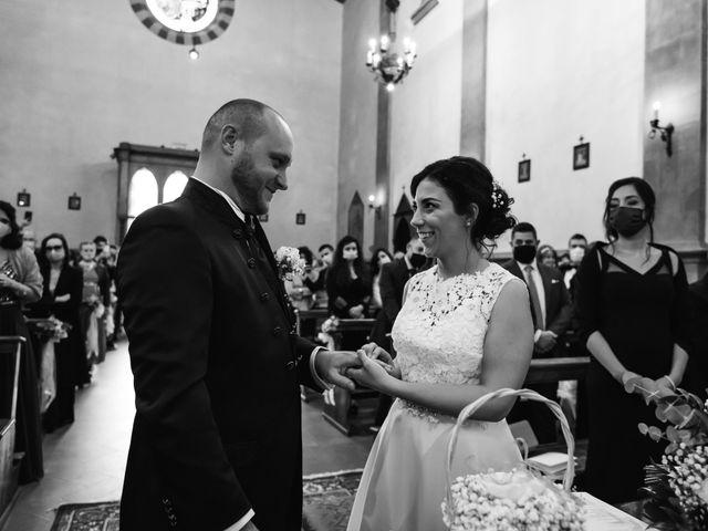 Il matrimonio di Lorenzo e Anna a Castelfiorentino, Firenze 24