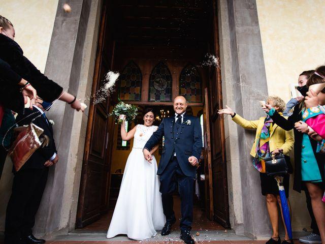 Il matrimonio di Lorenzo e Anna a Castelfiorentino, Firenze 26