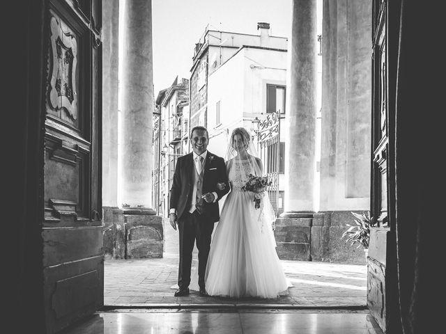 Il matrimonio di Emanuele e Ludovica a Sutri, Viterbo 25