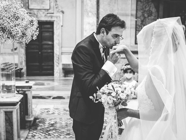 Il matrimonio di Emanuele e Ludovica a Sutri, Viterbo 27